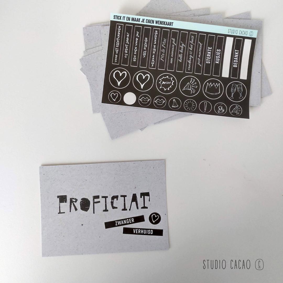 Stick it cards - Hechtel-Eksel Winkelt