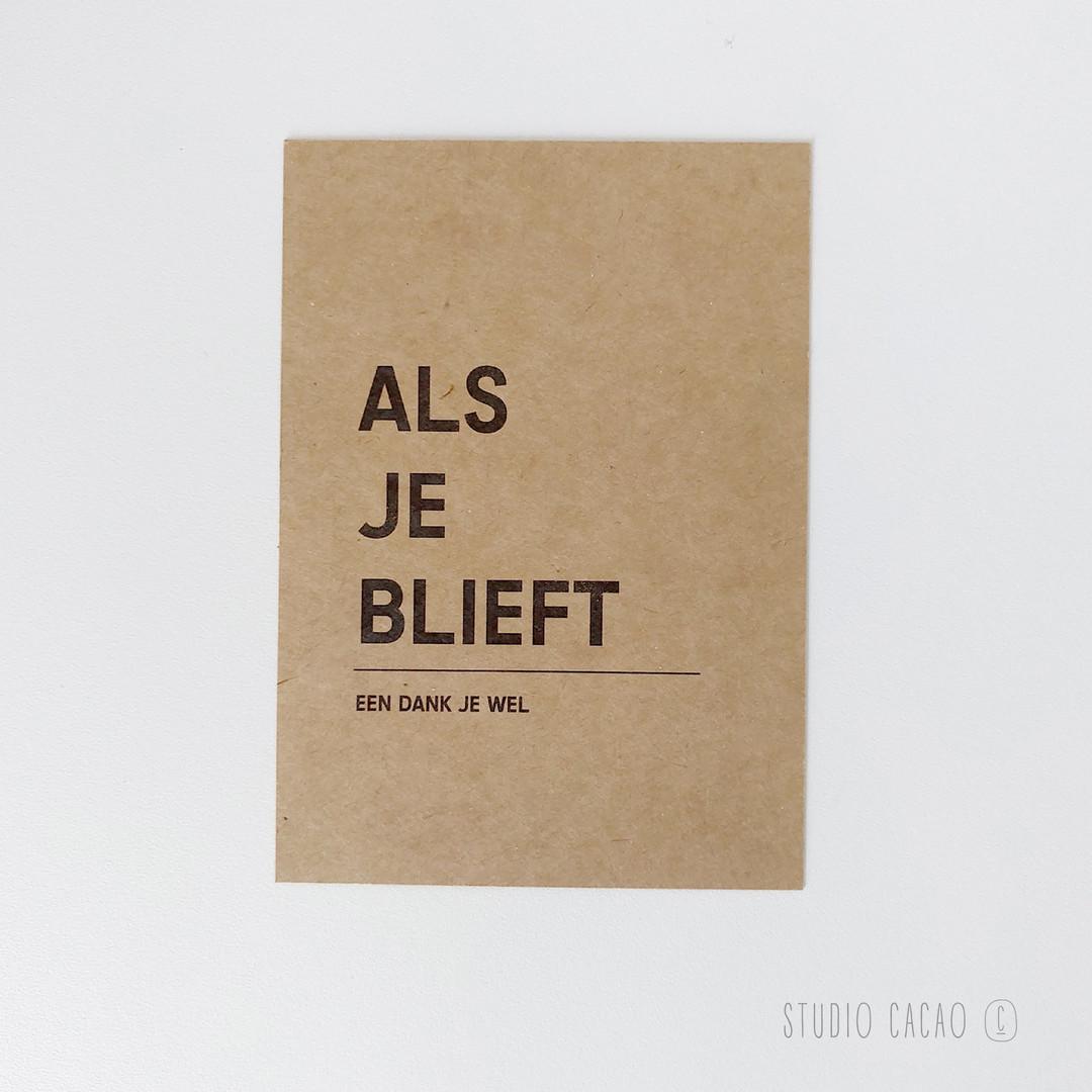 Quote Card - alsjeblieft - Hechtel-Eksel Winkelt