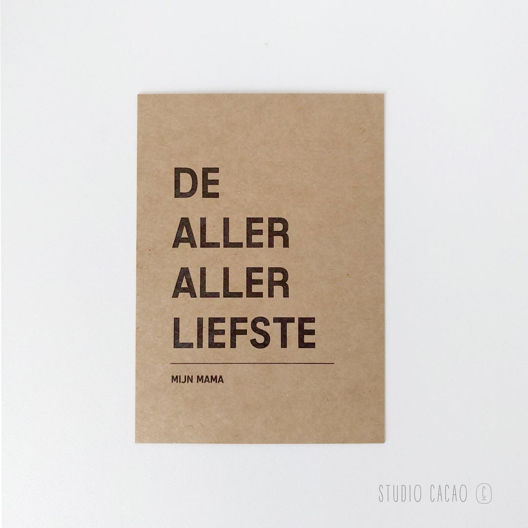 Quote Card - mijn mama - Hechtel-Eksel Winkelt